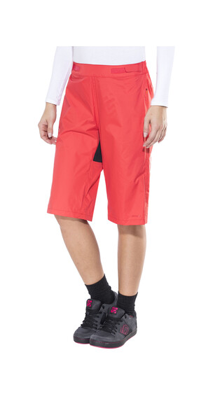 VAUDE Tremalzo Rain Shorts Women flame